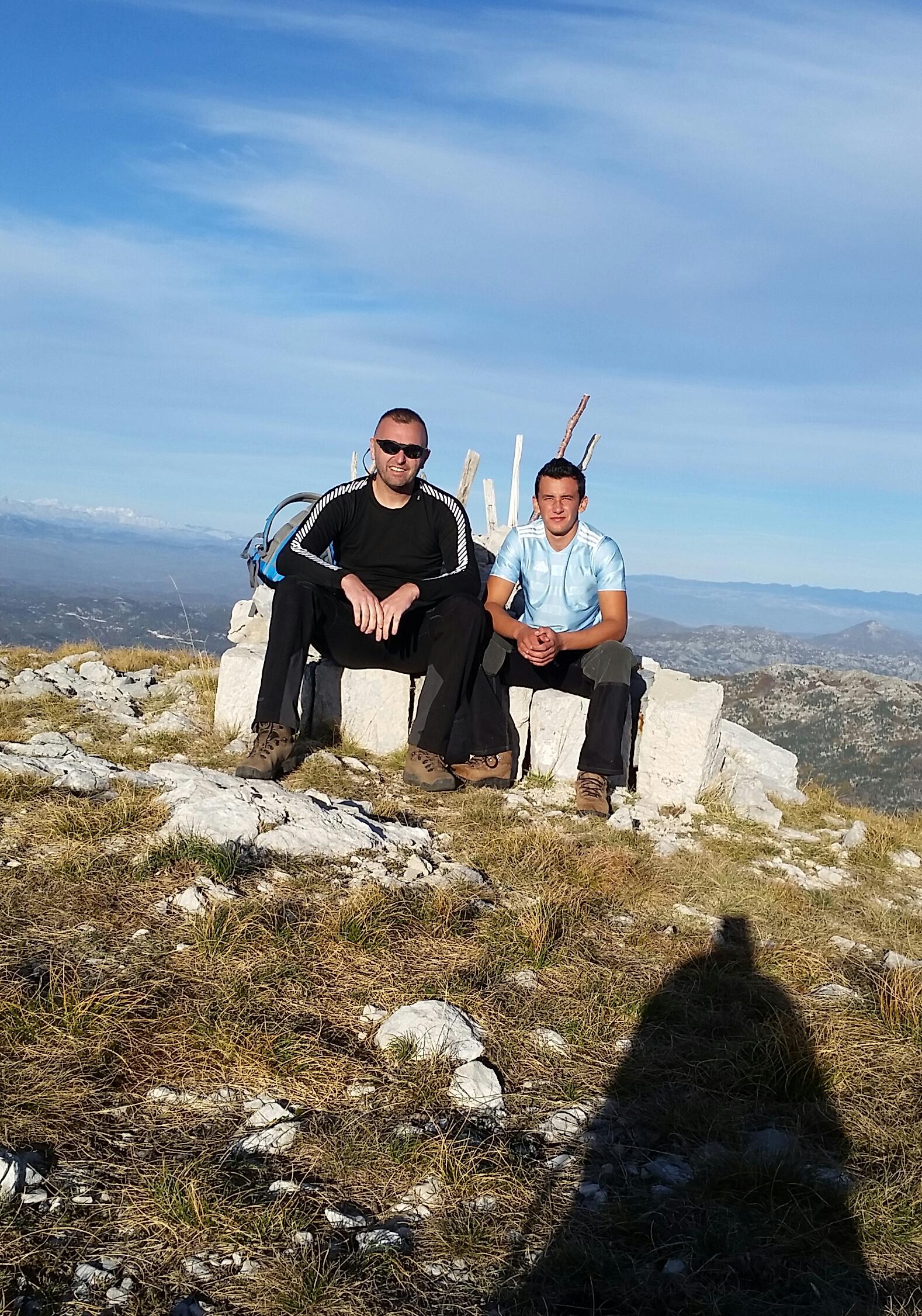 Danko i Miloš su se popeli i na Jastrebicu