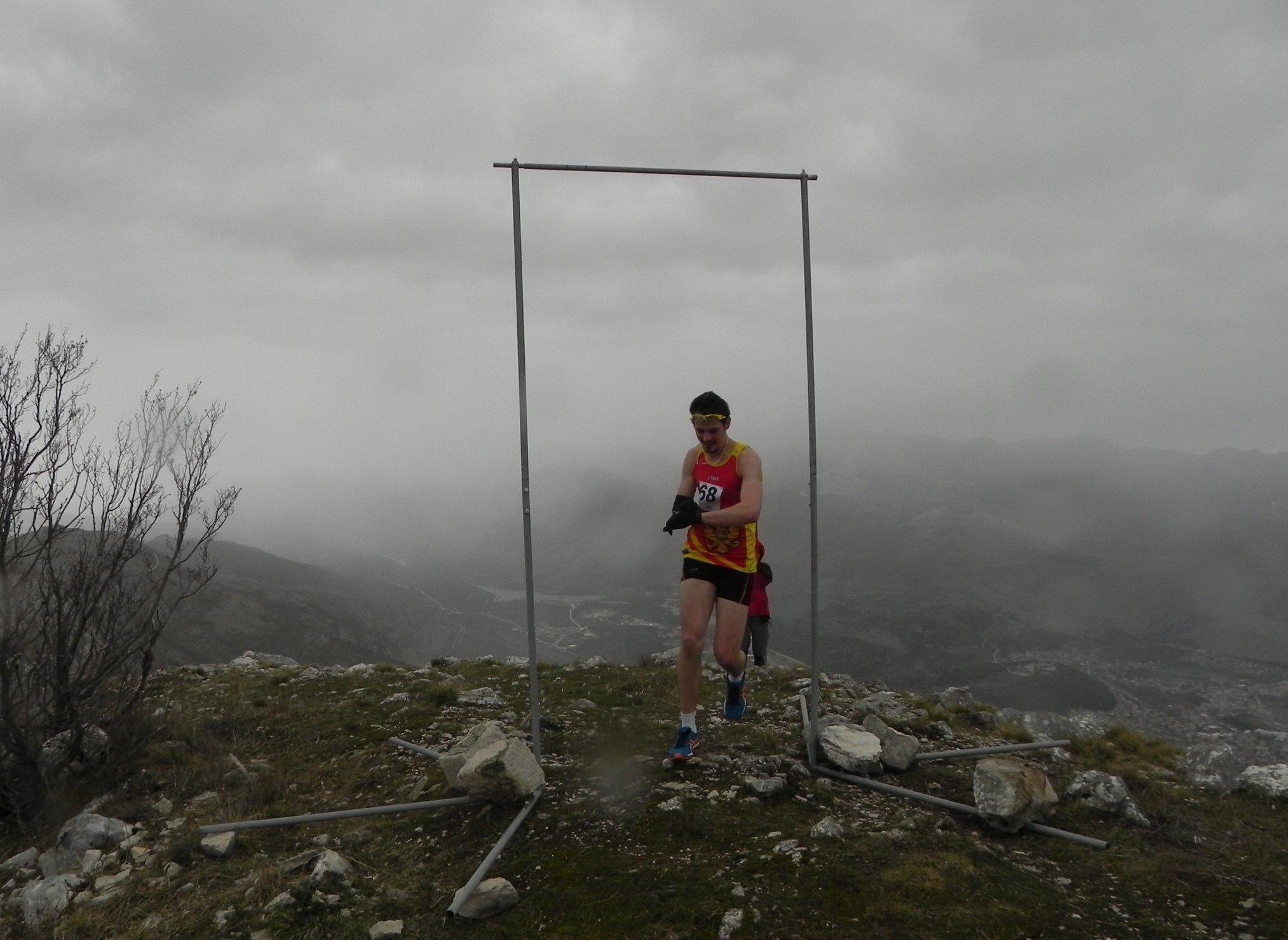 Trenutak postavljanja rekorda - Miloš Mikić