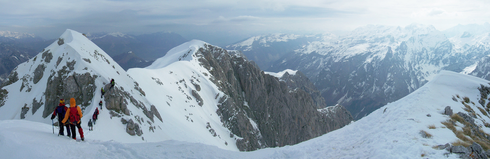 Uspon na Sjeverni i Veliki vrh Karanfila - Prokletije, autorska prava © 2011 Igor Škero